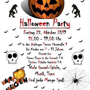 News #70 - Halloweenparty 2019 - Image